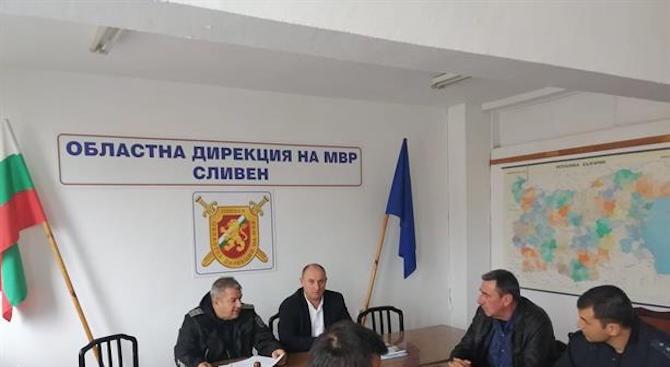 Старши комисар Димитър Величков проведе работна среща с началника на