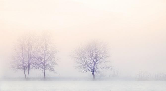 Част от Централна Гърция осъмна под снежна покривка – за