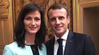 Мария Габриел и Еманюел Макрон: Само заедно можем да отстояваме европейското лидерство и цифровия ни суверенитет (снимки)