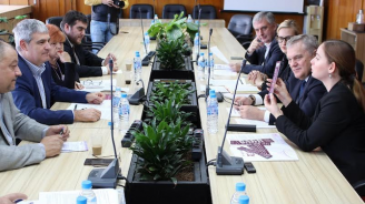 Ръководството на АБВ проведе среща с КНСБ