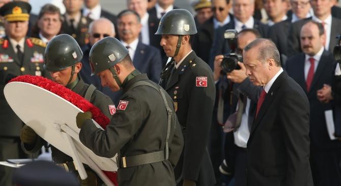 Реджеп Ердоган: Европа си затваря очите пред финансирания от Джордж Сорос тероризъм