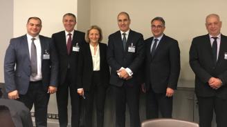 Цветан Цветанов и членове на Комисията по вътрешна сигурност се срещнаха с френските депутати