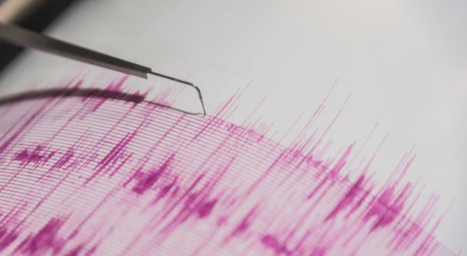 Земетресение с магнитуд от 2,9 по Рихтер е регистрирано в