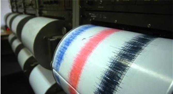 Земетресение с магнитуд 4.4 в района на Солун