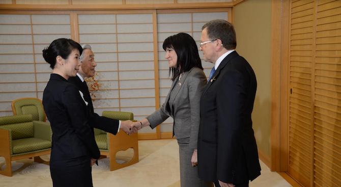 Япония е ключов фактор в регионалната и международната политика. Тя