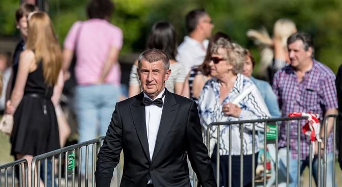 Чешкият министър-председател Андрей Бабиш каза, че демонстрациите с участието на