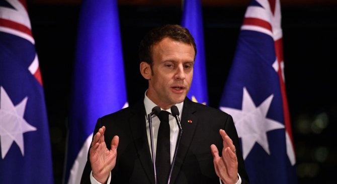 """Еманюел Макрон призова за укрепване на """"интензивните отношения"""" между Франция"""