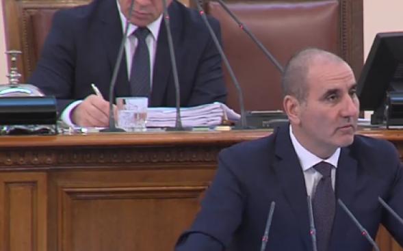 Цветанов към БСП: Направихте днес единствено само това, в което сте перфектни - скандал (видео)