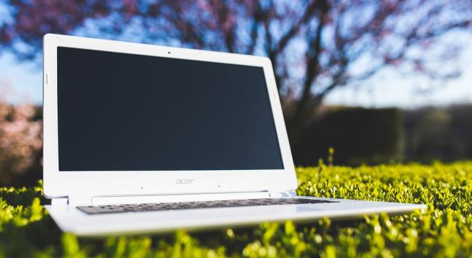Опит за кражба на лаптоп е извършен в магазин за