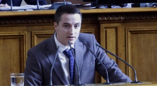 """""""Да върнете властта на народа"""", каза Явор Божанков от БСП."""