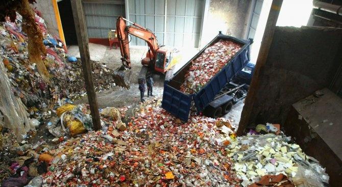 Инсталация за сепариране на отпадъци заработи днес в Русе. Това