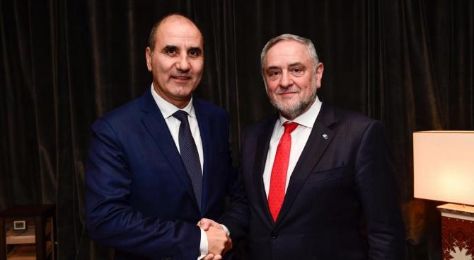 Цветанов разговаря с вицепрезидента на Световния еврейски конгрес Робърт Сингер