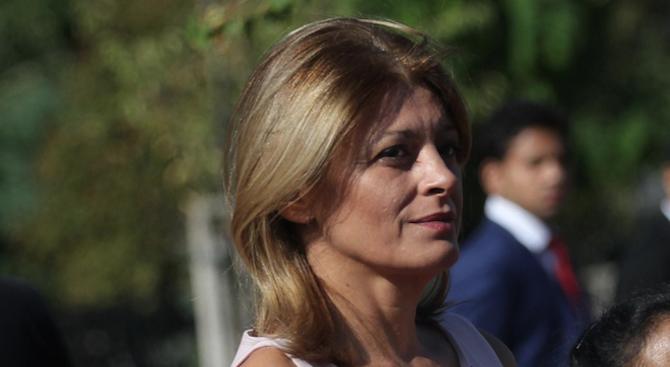 Десислава Радева с първи думи за скандала с колата на НСО (видео)