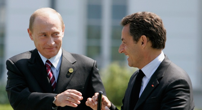 Никола Саркози в Москва: Винаги съм бил приятел с Владимир Путин