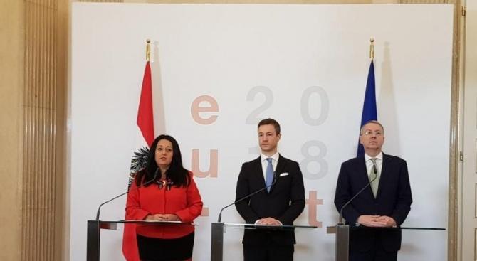 Среща на Триото отчете постигнатите резултати за 18 месеца председателство на Съвета на ЕС