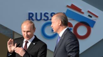 """Путин и Ердоган се срещат в Истанбул за началото на сухопътната част от """"Турски поток"""""""