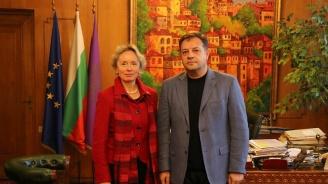 Проучват се възможностите за партньорство между Велико Търново и австрийския град Щайр