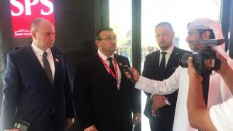 Министър Маринов посети националната полиция на Дубай