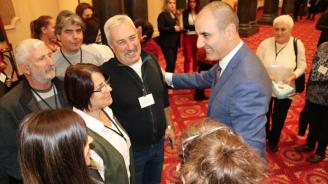 Цветан Цветанов се срещна с жители на община Ловеч