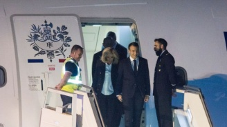 Еманюел Макрон е на първо официално посещение в Аржентина