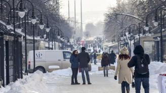 """Внимание! Поледици блокираха София, стотици минаха през """"Пирогов"""""""