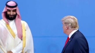 Тръмп и Бин Салман си разменили шеги в кулоарите на Г-20 (снимки)