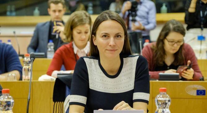 Българският евродепутат от ГЕРБ/ЕНП Ева Майдел е избрана за един