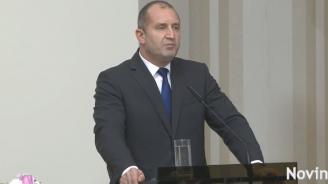 Румен Радев: Призоваваме Русия и Украйна към сдържаност и деескалация на напрежението (видео)