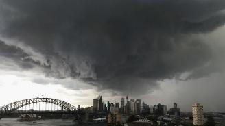 Буря наводни Сидни
