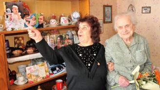 Столетничката Женика Василева си пожела още 100 години живот