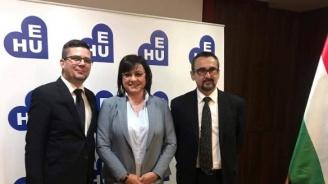 Нинова: Европейска прокуратура е нужна, може най-накрая някой политик у нас да влезе в затвора