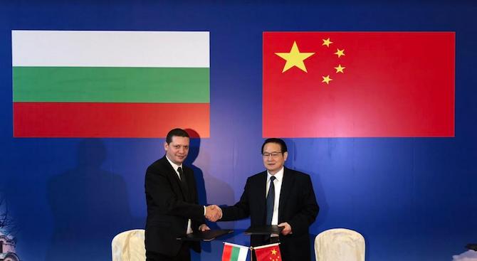 Илиан Тодоров се срещна с губернатора на китайската провинция Дзянси