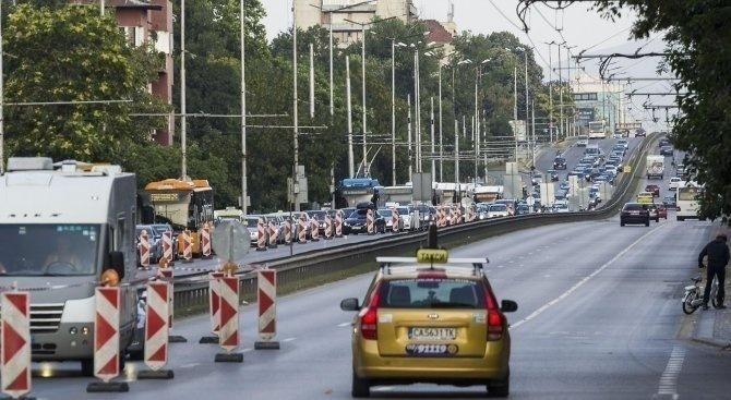 """Въвеждат временна промяна в движението по бул. """"Левски"""""""