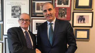 Цветан Цветанов се срещна Даниел Фрийд от ръководството на Атлантическия съвет на САЩ