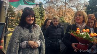 Цвета Караянчева към майките на деца с увреждания: Ще продължим да работим (снимки)