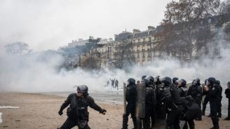 Франция затяга мерките за сигурност по време на протестите в събота