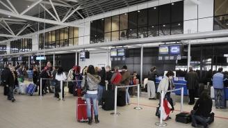 Евростат: Летище София е на 63-то място сред 150 аеропорта в ЕС