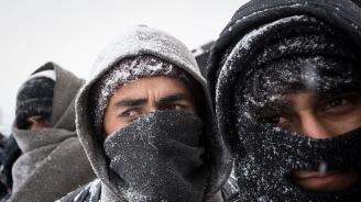 Нов случай на замръзнал до смърт мигрант