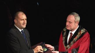 Румен Радев: Софийският университет е люлка на знанието, на свободата и критичната мисъл