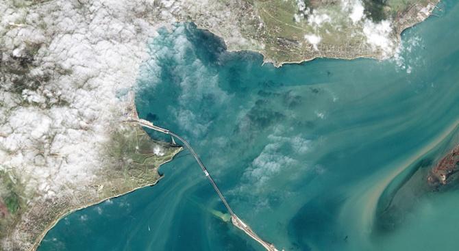 Русия частично е разблокирала украинските пристанища в Азовско море
