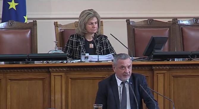 Симеонов: Нашето отношение към бизнеса трябва да е отношение на партньорство, а не на репресии