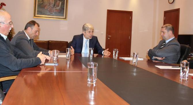 "Нено Димов ще преговаря с ""Юлен"" АД за изменение и допълнение на концесионния договор"