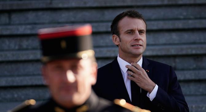 Макрон прикани политиците във Франция да призоват за спокойствие и спазване на реда