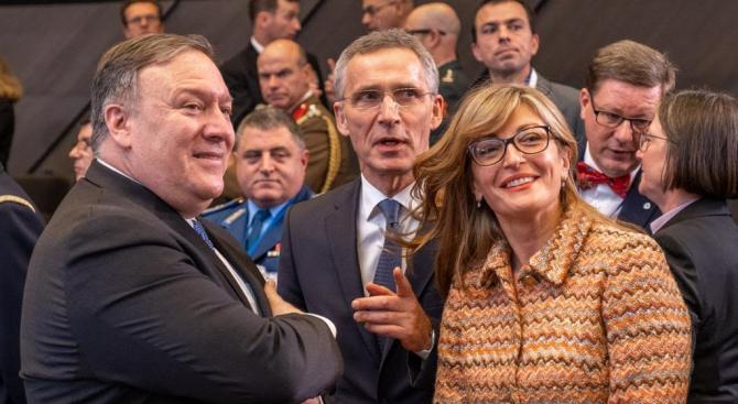 Външните министри на държавите-членки на НАТО обсъдиха на двудневна среща
