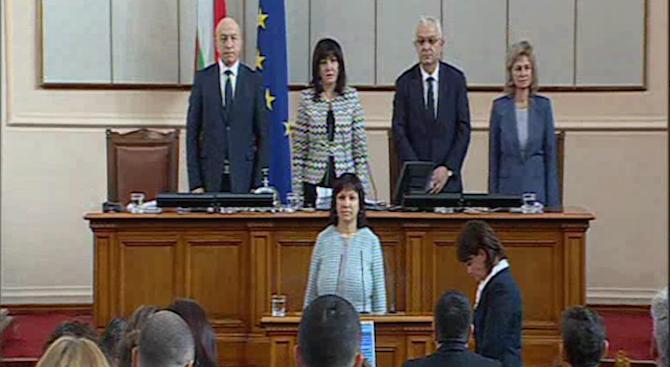 Ралица Добрева от ГЕРБ се върна като депутат в парламента