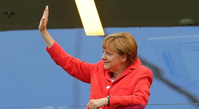 Ние днес имаме много работа, каза германският канцлер Ангела Меркел,