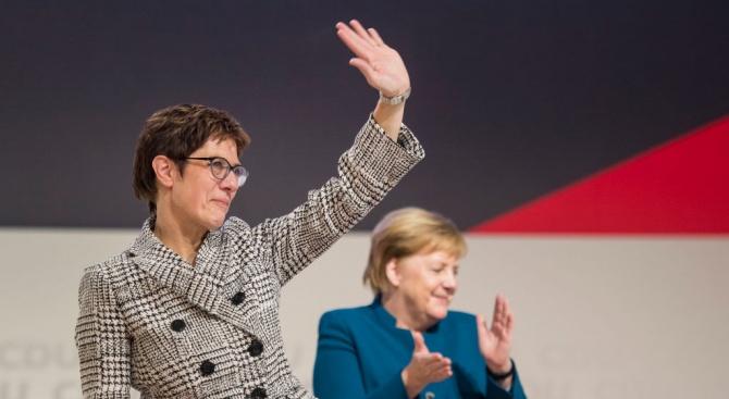 Коя е новата лидерка на ХДС?