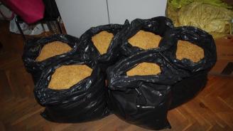 Спипаха солидни количества тютюн без бандерол край Пазарджик