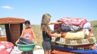 Разтуриха цигански катун в Бургас навръх празника на града