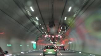"""Движението в тунел """"Топли дол"""" на АМ """"Хемус"""" утре временно ще е двупосочно"""